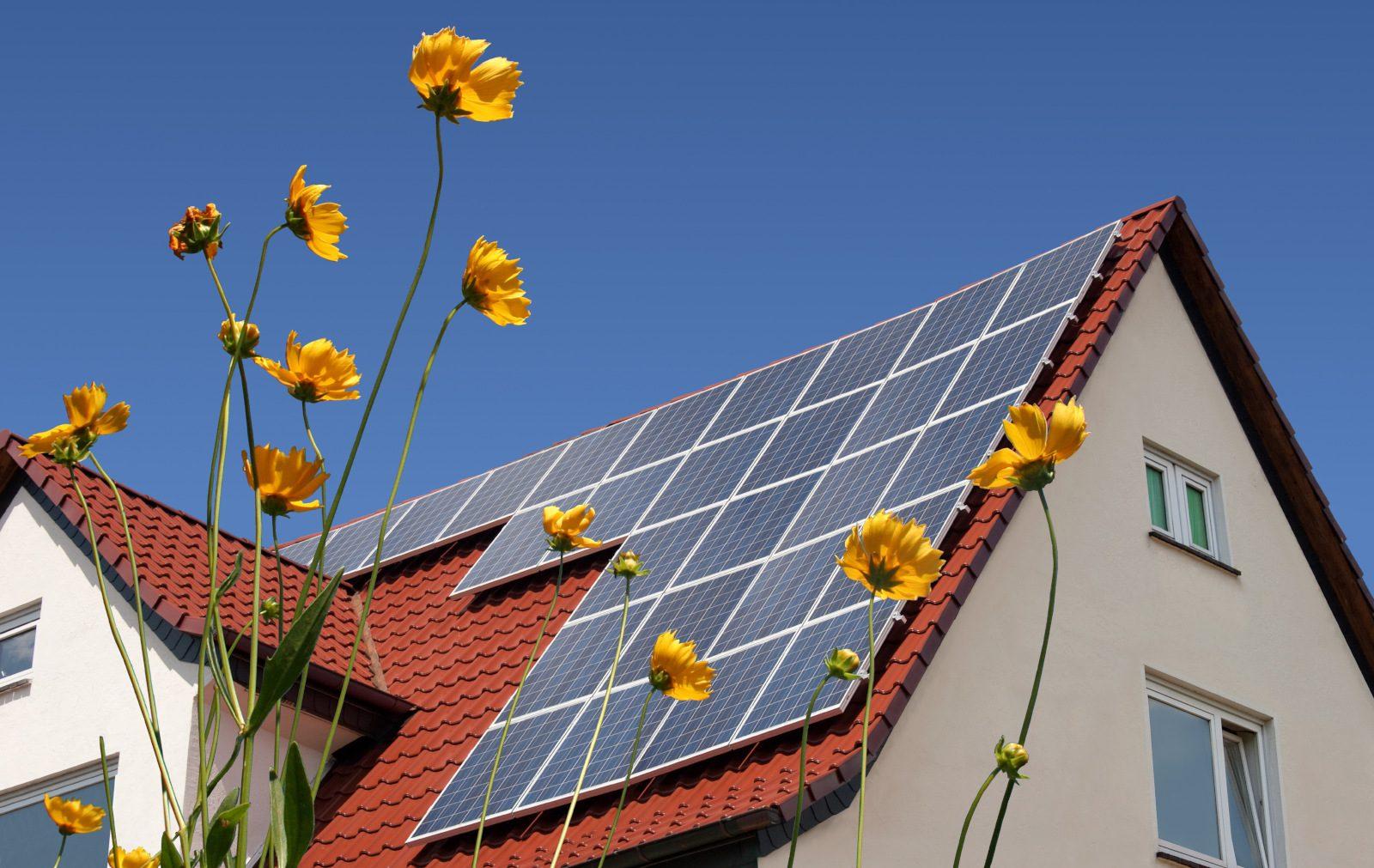 Huis zonnepanelen 1600